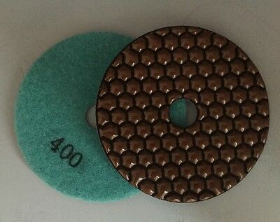 """4""""Diamond Dry Polishing Pads for Marble and Grainte, Grit -400"""
