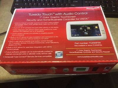 *NEWEST MODEL TUXWIFIW ** Factory Sealed Honeywell TUXEDO Touchscreen Keypad NEW