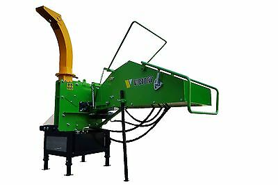 WC-8H, Wood Chipper with Self-Contained Hydraulics from Victory TI