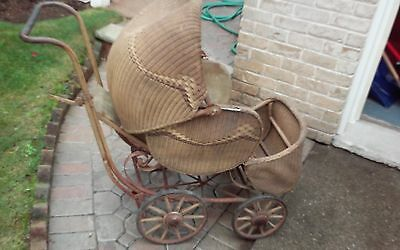 Vintage Whitney Baby Carriage for restoration