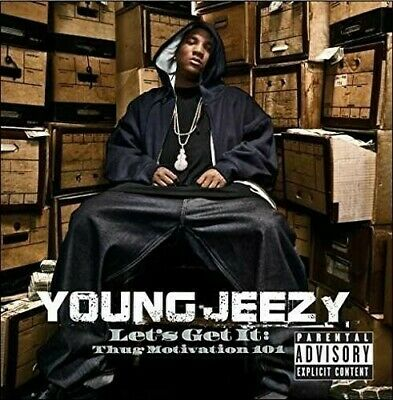 Young Jeezy Lets Get It Thug Motivation 101 vinyl LP NEW sealed