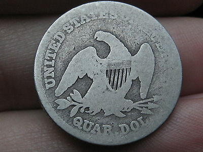 1839 Seated Liberty Quarter- Scarce Type Coin