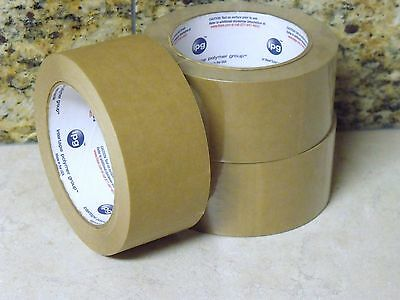 90 Ft. Roll SELF ADHESIVE Kraft Paper Tape NO WATER REQUIRED