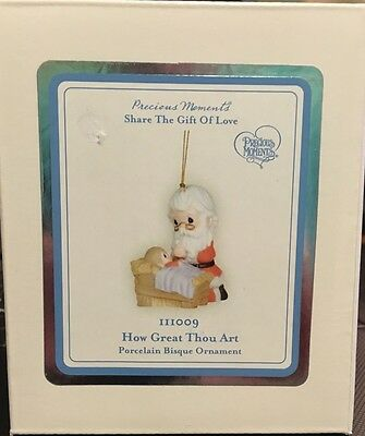 "Precious Moments Ornament ""How Great Thou Art""!  NEW IN BOX!"