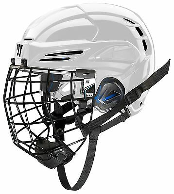 COVERT PX2HC6WHS Warrior Ice Hockey Players Helmet with Cage White Small