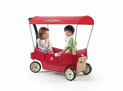 Step2 All Around Canopy Wagon Red
