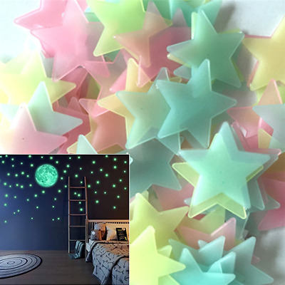 *CHEAP* GLOW IN THE DARK STAR STICKERS: Decal Kids Nursery Solar System Decor
