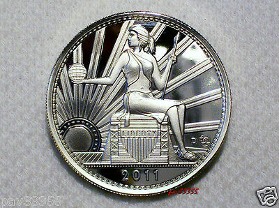 Daniel Carr - 2011 D 20 AMEROS -Seated Liberty - UNA - Proof-Like Silver Round