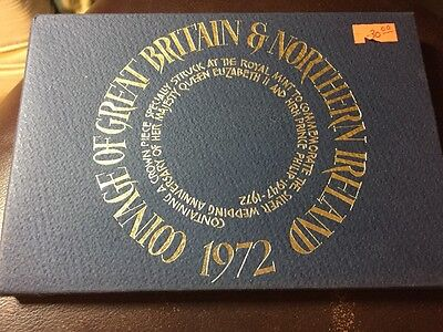 1972 Coinage Of Great Britain And Northern Ireland Set