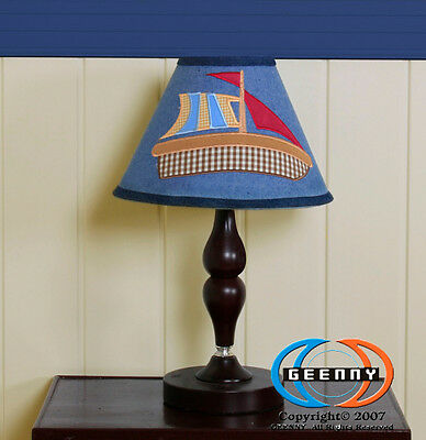 Lamp Shade for Baby Boy Sailor Bedding Set GEENNY