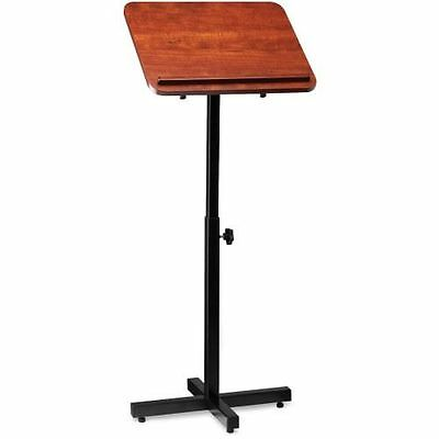 Lorell Tilt Platform Adjustable Floor Lectern 69868
