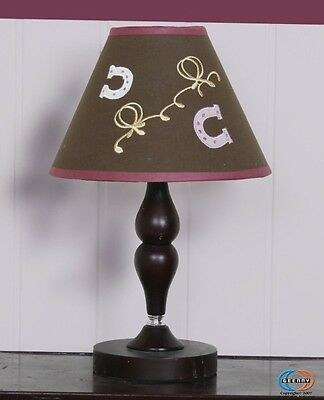 Lamp Shade for Horse & Cowgirl Girl 13P Bedding Set