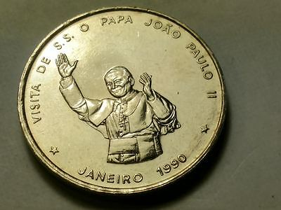 Cape Verde Cabo 1990 Proof/Like 100 Escudos - POPE VISIT