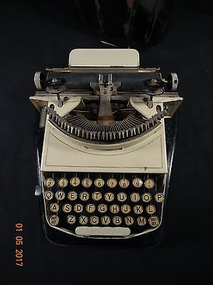 Very Rare Vintage 1920's BING No. 2 IVORY Colored Typewriter