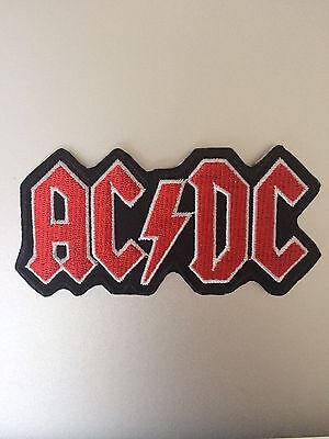 AC/DC Patch - Iron Sew On Motif - Embroidered Badge - Rock Aussie ACDC #125
