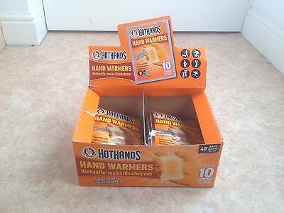 Hot Hands Pocket Hand Warmers 17 Pairs Ready To Use Accessory Protects Chill New