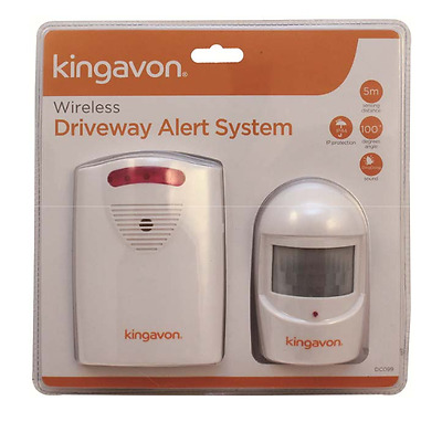 Wireless Digital Outdoor Garage Driveway Motion Sensor Alarm System Chime Sensor