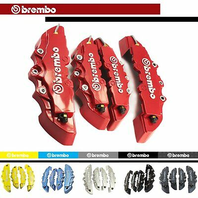 4x Look RED Front & Rear Brake Caliper Covers DECAL For Mazda 3 6 RX-8 2004-2012