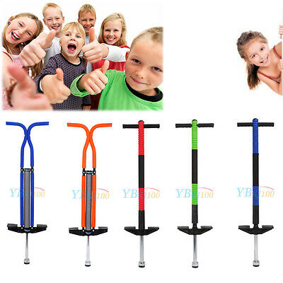 Pogo Stick Jump Spring Stick Kids outdoor summer toy For Exercise Single Double