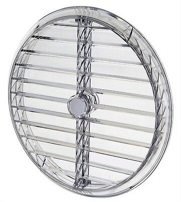 "Simon Vent-A-Matic PB Static Window Glass Ventilator 164mm 6"" Aperture Gas"