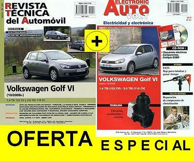 MANUAL DE TALLER Y ELECTRICIDAD VOLWSWAGEN GOLF VI. 2.0 DE 210  y CD ROM+TESTER