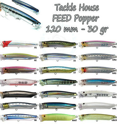 TACKLE HOUSE FEED POPPER 120 Saltwater Spinning JAPAN LURE