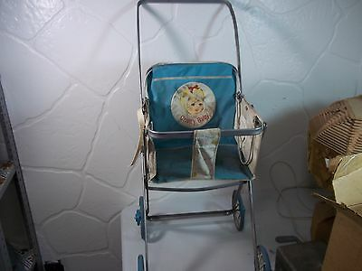Vintage 1962 Mattel Chatty Baby Doll Carriage