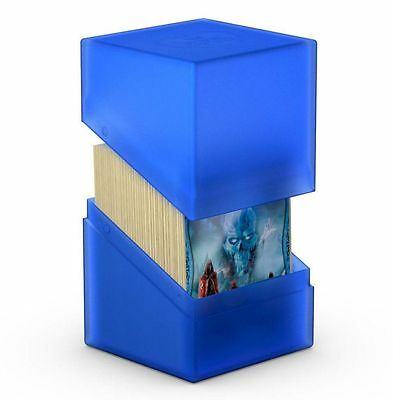 Ultimate Guard - Boulder Deck Case 100+ Sapphire - Gaming Card Box for Arkhive