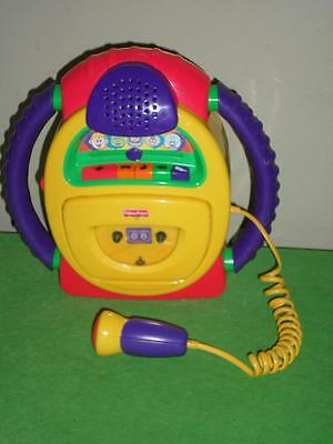 Fisher Price Tuff Stuff Cassette Wacky Voice Karaoke HTF