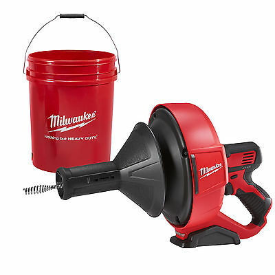 M12 Cordless Drain Snake (Tool Only) Milwaukee 2571-20 New