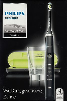 PHILIPS Sonicare HX9352/04 Diamond Clean Black Edition - Schallzahnbürste - OVP