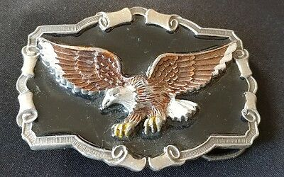 Eagle Belt Buckle Made In Usa 1983 Great American Buckle Co