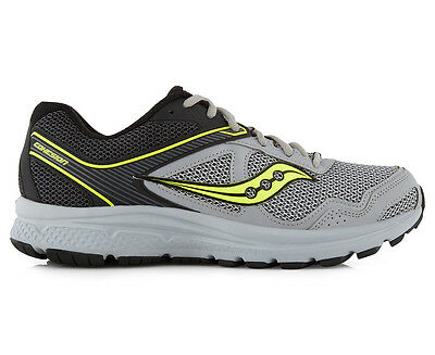 Saucony Men's Grid Cohesion 10 Shoe - Black/Grey