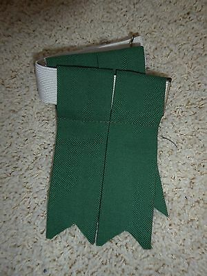 Pair of Green Flashes for Kilt Wear