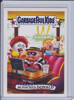 Topps GPK Trumpocracy The First 100 Days 120 McHacked Donald