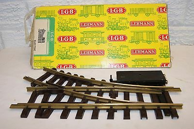 G scale 45mm EXCELLENT LGB 1200 Small Radius Right ELECTRIC Point GOOD MOTOR