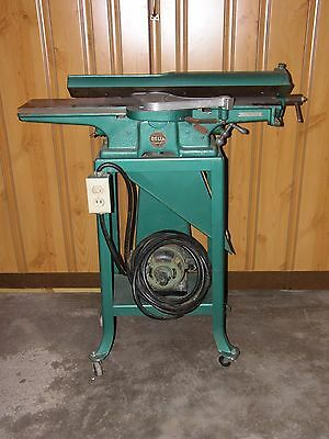 """Vintage Delta 6"""" Jointer Working Condition Serial NR 30-2926 Made in 1944"""