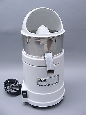 Waring Commercial Heavy Duty Citrus Juicer 31JC33 JC4000