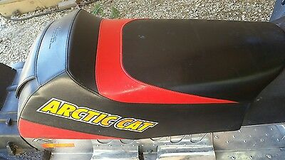 Nice red and black seat for 2005 2006 firecat 500 600 700 f5 f6 f7