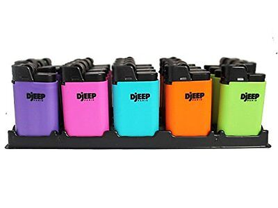 Djeep Paris Collection Cigarette Lighters (Pack of 4) Neon Hot Body Free Shippin