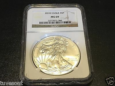 2010 American Silver Eagle (Ngc Ms69)