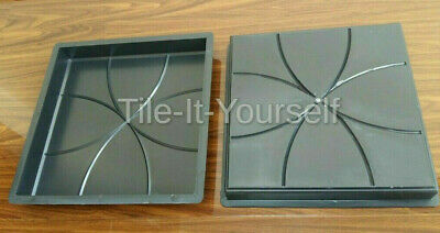 Extra Large Straight Edging Concrete Garden Mould Tile