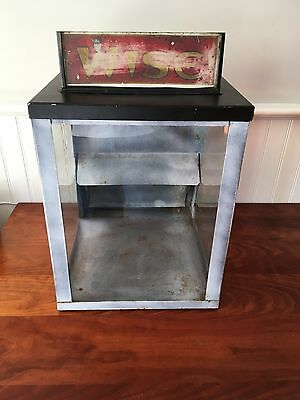 Vintage Counter Display - Wise Potato Chip Cabinet