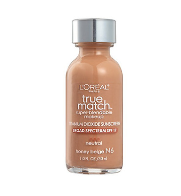L'OREAL Paris True Match Super-Blendable Makeup #N6 Honey Beige