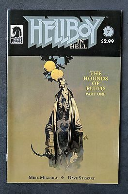 Hellboy in Hell #7 Hounds of Pluto Mike Mignola Dark Horse Comics August 2015