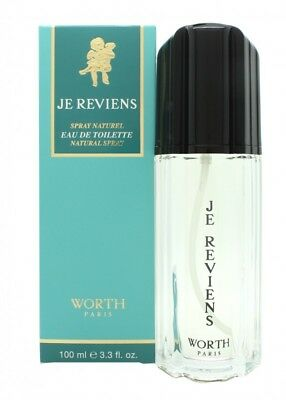 Worth Je Reviens Eau De Toilette 100Ml Spray Für Sie. Neu