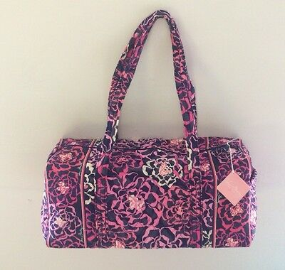 NWTags Vera Bradley Large  DUFFEL katalina pink Bag Luggage Travel Tote
