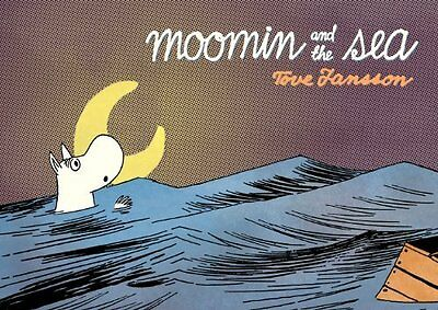 Book : Moomin and the Sea by Jansson  Tove Paperback New
