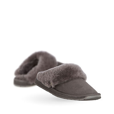 EMU Australia Womens Slippers Platinum Eden Sheepskin Slipper in Charcoal