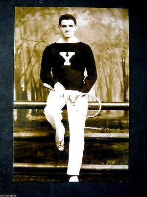 Postcard / Yale Athlete Tennis Player / Gay Interest